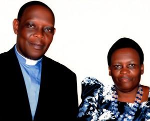 Bishop-elect Samuel and Sarah Kahuma