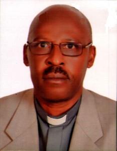Bishop-elect Benon Magezi