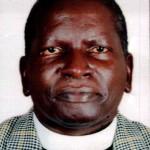 Bishop-elect Michael Lubowa