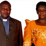Bishop-elect Patrick and Florence Wakula