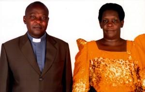 Bishop-elect Patrick and Florence Wakula